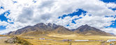Panorama of Andes