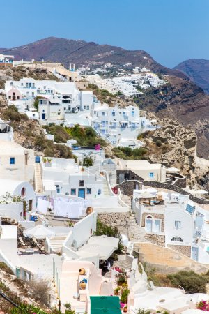 View of Fira town