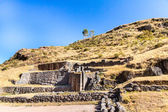 Inca ruins of Sacred Valley in Andes