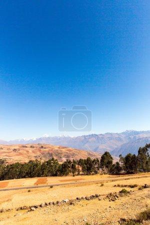 Peru, Ollantaytambo-Inca ruins of Sacred Valley