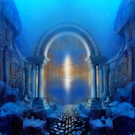 Photo for Way to Atlantis - Royalty Free Image