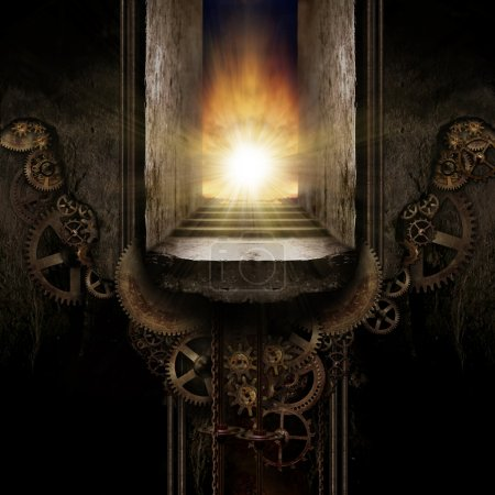 Photo for Steam Punk Background - Royalty Free Image