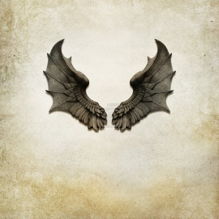 Dragon wings background
