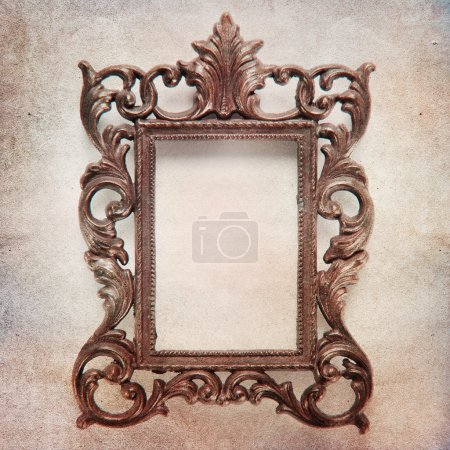 Shabby Chic Background with antique frame