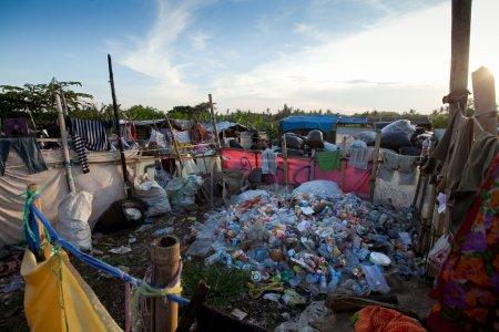Waste processing plant in Bali island