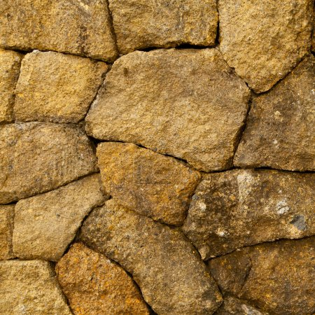 Stone wall, square texture...