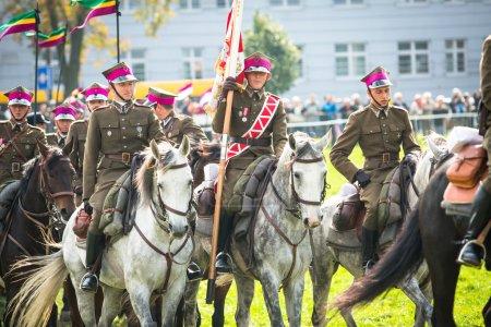 Polish cavalry in Krakow