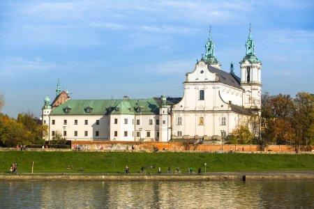 St. Stanislaus Bishop in Krakow, Poland.