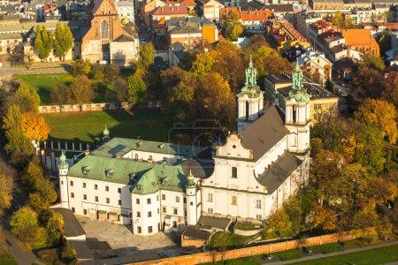 Church of St. Stanislaus Bishop in Krakow
