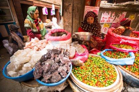 Unidentified street vendor