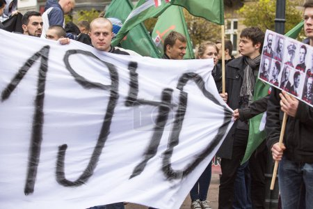 Unidentified participants IV Procession Katyn