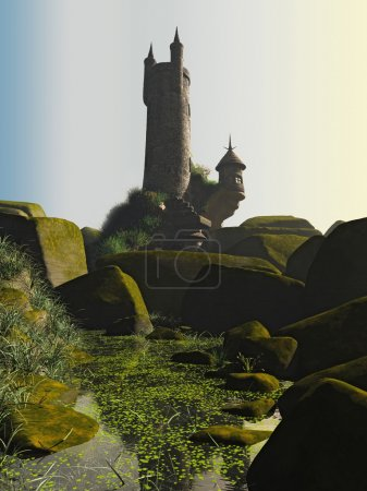 Wizards Tower and Pool