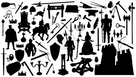 Medieval silhouettes