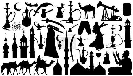 Arabian silhouettes