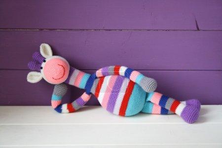 Photo for Crochet giraffes - Royalty Free Image