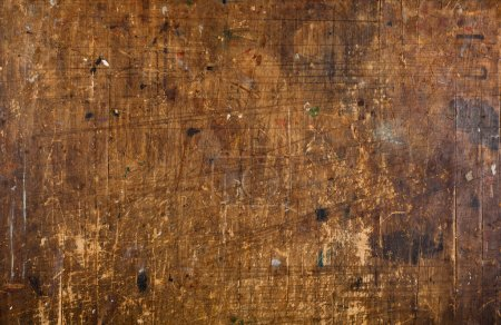 grunge old scratched wood background