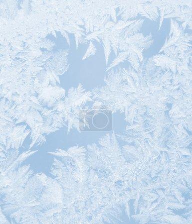 Photo pour Fenêtre gelée. Contexte abstrait pour les produits technologiques, commerciaux, informatiques ou électroniques - image libre de droit