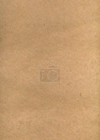 Photo pour Vieux fond texturé en carton brun - image libre de droit