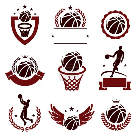 Basketball labels