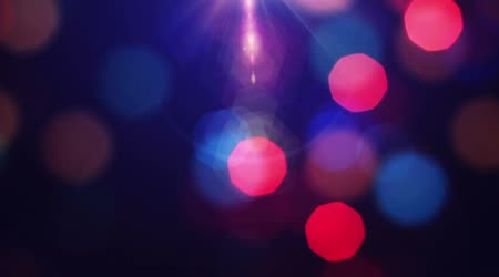 Lights Out of Focus. Holiday background.