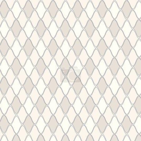 Illustration pour Fond de motif géométrique vectoriel sans couture - image libre de droit