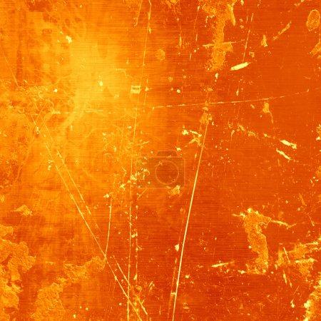 Photo pour Fond orange doux avec quelques lignes lisses en elle - image libre de droit