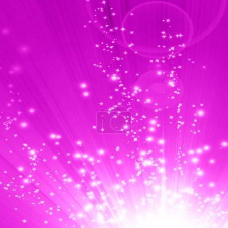 Photo pour Fond rose doux avec quelques lignes lisses en elle - image libre de droit