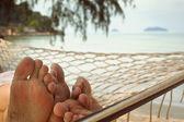 Couple in hammock