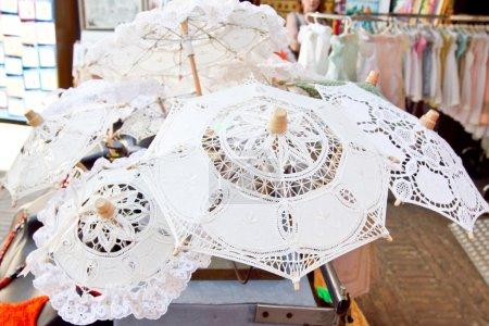 Lace from Burano, sovenir shop