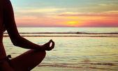 yoga abstract, lotus