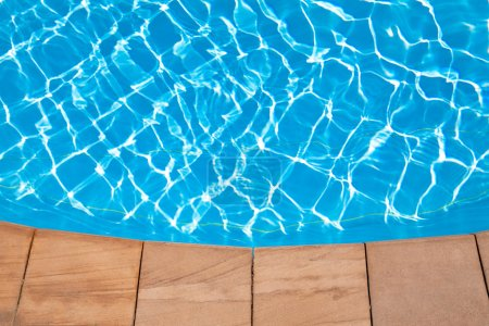 Photo for Swimming pool background - Royalty Free Image