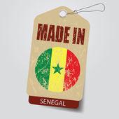 Made in Senegal  Tag