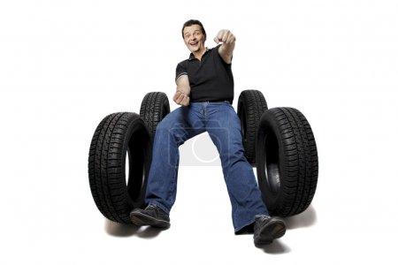 Mit neuen Reifen sicher fahren