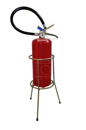 Extinguisher and holder