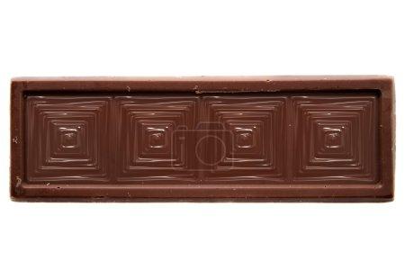 Photo pour Haut de la barre de chocolat au carré mince Découvre une grande image pour votre métier. - image libre de droit