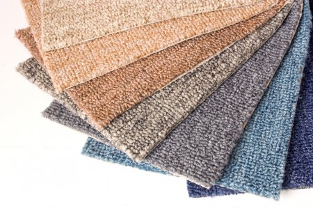 Photo for Photo of Carpet samples - Royalty Free Image