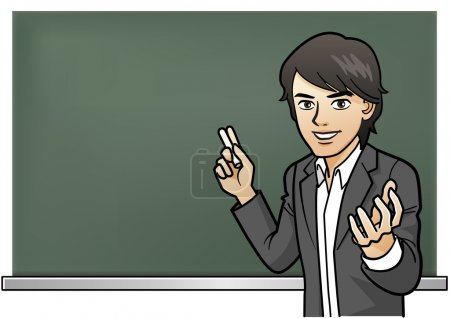 Passionate Cramschool teacher's lesson