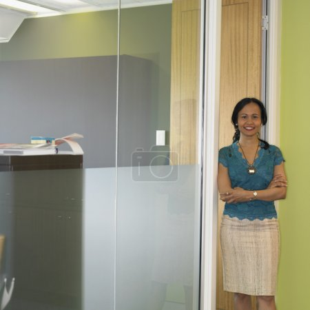Indian businesswoman at the office