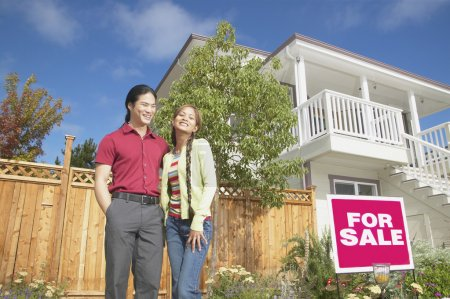 Couple with house for sale
