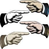 Ukazovat prstem