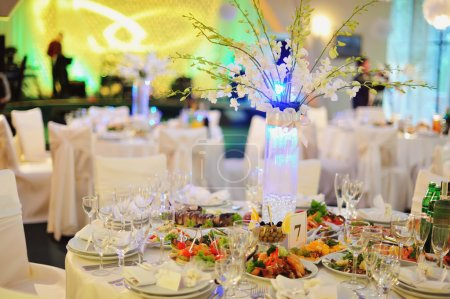 wedding banquet in a restaurant