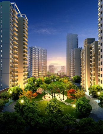 Photo for Architectural Renderings, this photo was made in June 2010, in Shanghai, China. - Royalty Free Image