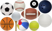 Assorted Sport Ball Collection