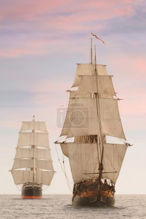 Tall Ships Front View