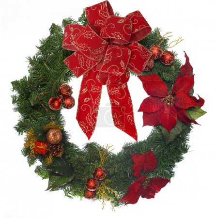 Photo for Christmas wreath - Royalty Free Image