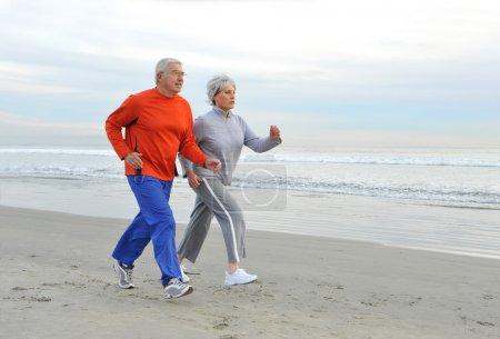 Jogging Seniors