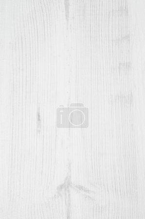 Photo for Wooden texture, white wood background, vertical - Royalty Free Image