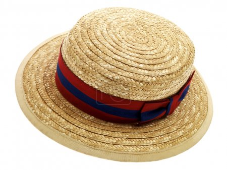 Schoolgirls Wicker Straw Hat