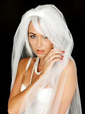Beautiful Young Bride Portrait