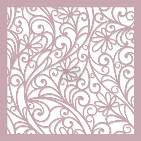 Illustration for Seamless abstract floral background - Royalty Free Image